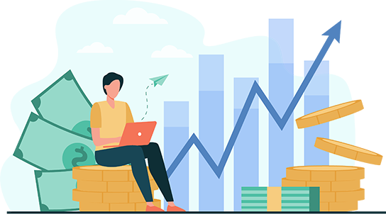 High return on investment Image